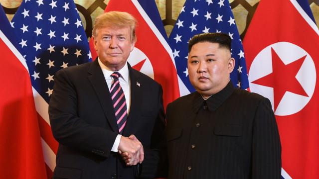Trump: Korea Utara Tak Miliki Masa Depan Ekonomi Jika Punya Nuklir (1188)
