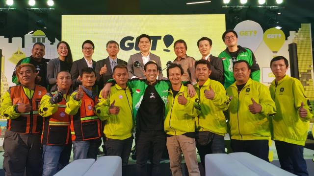 Peluncuran GET dari GOJEK di Bangkok, Thailand
