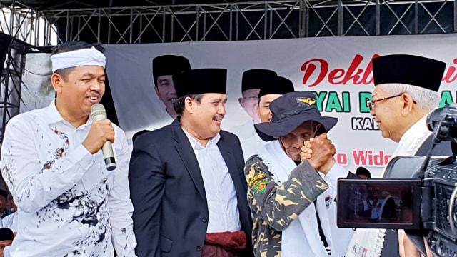 Habib Dadang Banser, Calon wakil presiden nomor urut 01, Ma'ruf Amin, Pangandaran