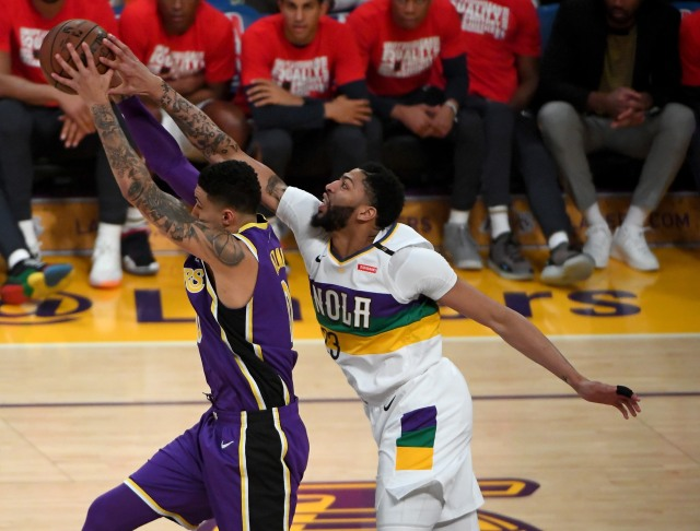 Lakers vs Pelicans (NOT COVER)