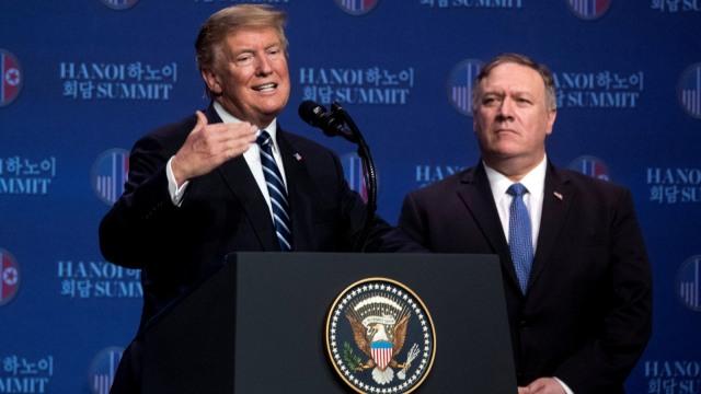 Trump Corona, Menlu AS Pompeo Mempersingkat Kunjungan ke Asia (38223)
