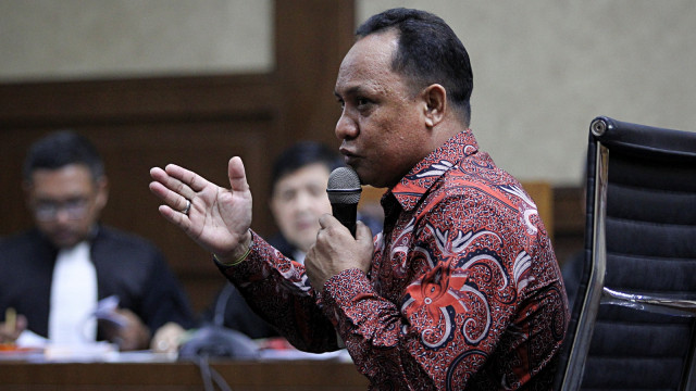 Zainal Mus, Kasus Korupsi, Lahan Bandara Bobong, Tipikor, Jakarta