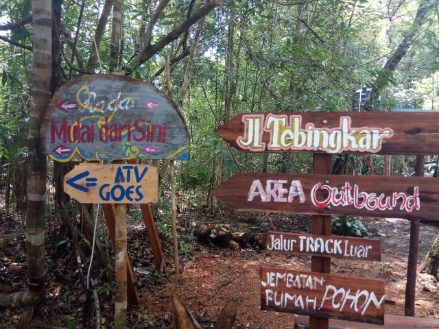 Hasil gambar untuk taman wisata hutan jurung tiga