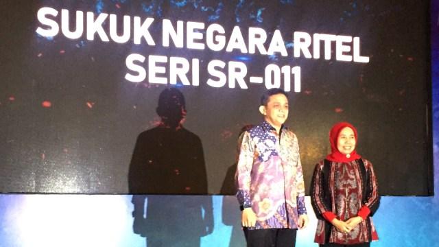 Peluncuran Sukuk Ritel Seri SR-011, Luky Alfirman