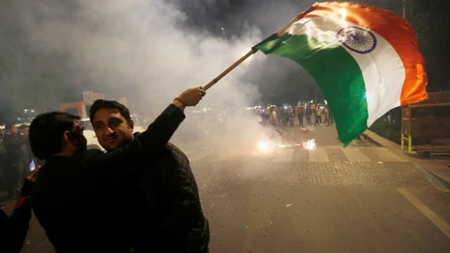 Warga India dalam konflik dengan Pakistan di Kashmir