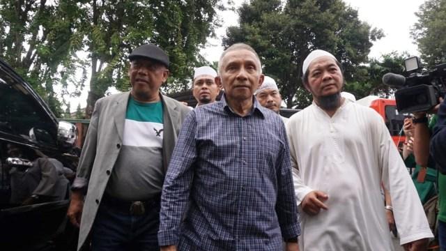 Amien Rais, Aksi Gabungan Massa FUI, Jalan Imam Bonjol, Depan KPU