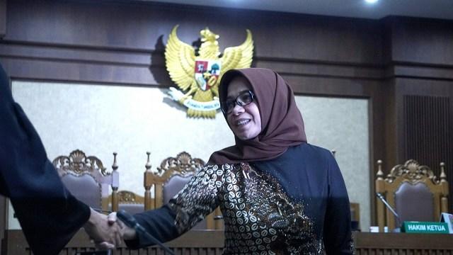 Eni Maulani Saragih, Pengadilan Tipikor Jakarta