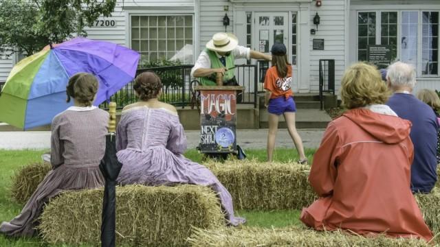 Desa Wauconda saat melakukan perayaan memperingati American Civil War pada tahun 2014