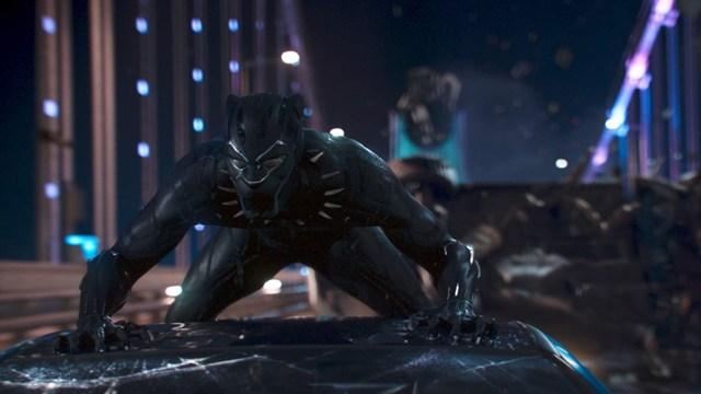 Salah satu adegan dari film Black Panther