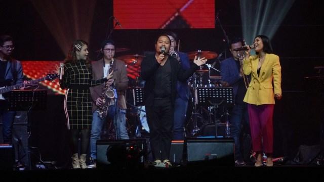 Is Pusakata, Rossa dan  Rini Wulandari di Java Jazz Festival 2019.