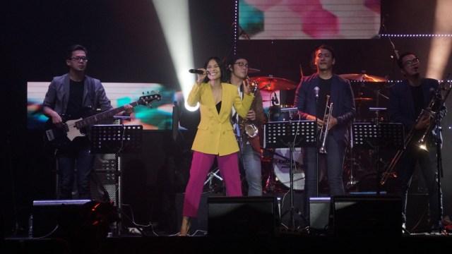Rini Wulandari di Java Jazz Festival 2019.
