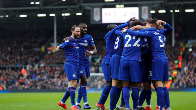 Gol Higuain dan Jorginho Bawa Chelsea Kalahkan Fulham (107926)