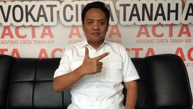 LIPSUS, Kampanye Hitam, Habiburokhman, juru bicara Direktorat Hukum dan Advokasi BPN.