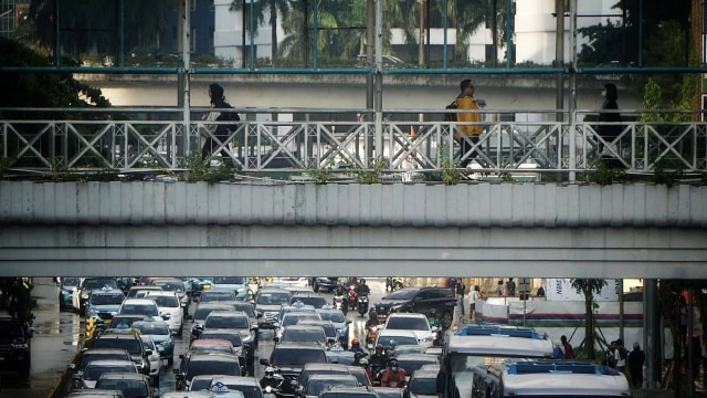 Ilustrasi Kepadatan Kota Jakarta
