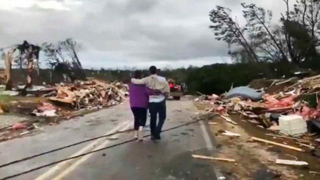 Angin Tornado, Alabama, Amerika Serikat