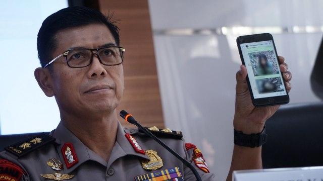 Asisten Operasi Kapolri, Rudy Sufahriadi, Konferensi pers Operasi Tinombala, Divhumas Polri