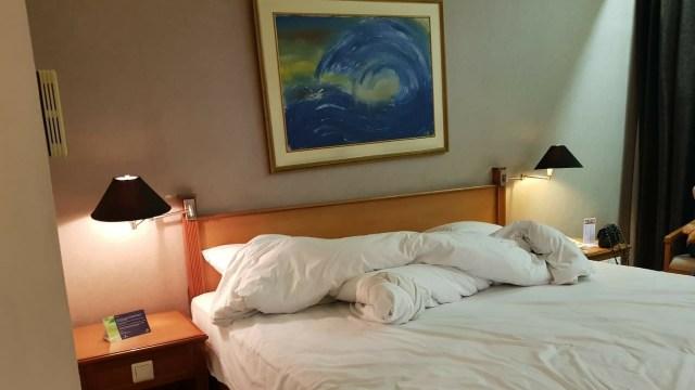Kondisi kamar hotel yang digunakan Andi Arief