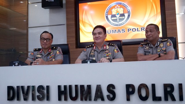 Kadiv Humas Polri, M. Iqbal, Konpers penangkapan Andi Arief