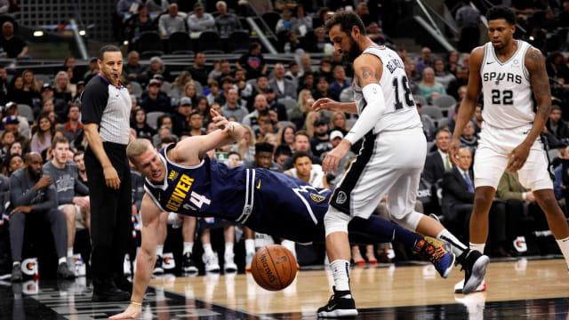 Nuggets vs Spurs