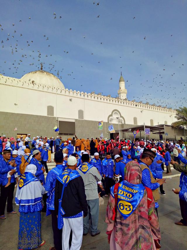 Menengok Masjid Pertama di Dunia yang Dibangun Nabi Muhammad SAW Saat Berhijrah (41448)