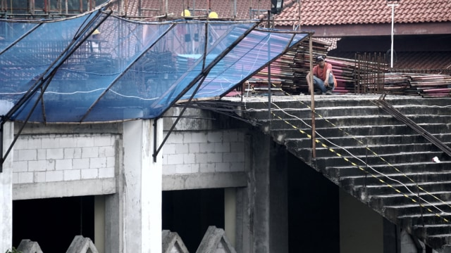Foto: Pembangunan Tol Becakayu Terhambat (26523)
