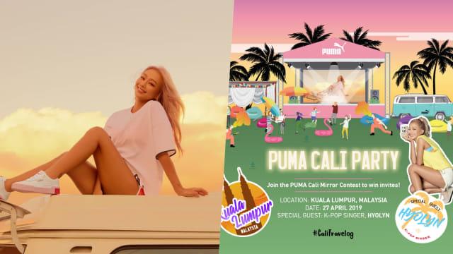 Hyolyn dan PUMA Cali Party