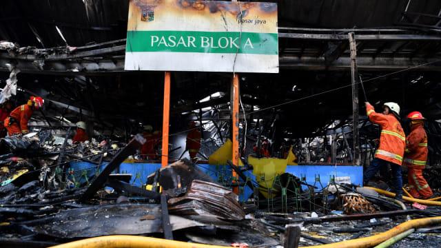 Kebakaran Pasar Blok A.