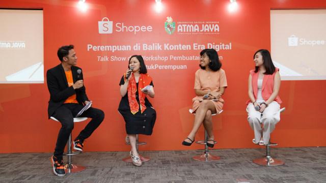 BincangShopee: Perempuan Harus Saling Mendukung (235169)