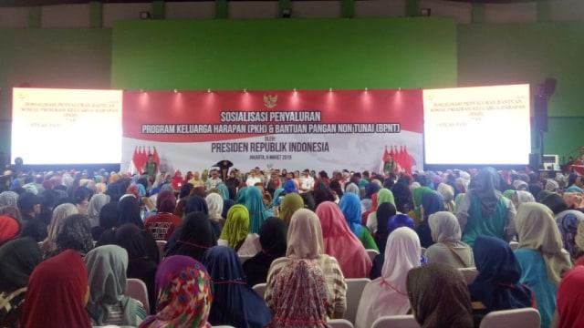 Presiden Joko Widodo, Sosialisasi Bantuan Program Keluarga Harapan