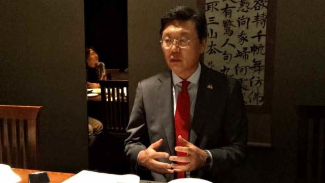 Duta Besar Korsel untuk RI Kim Chang-beom