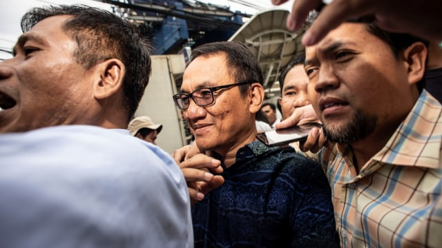 Andi Arief, BNN, Cawang