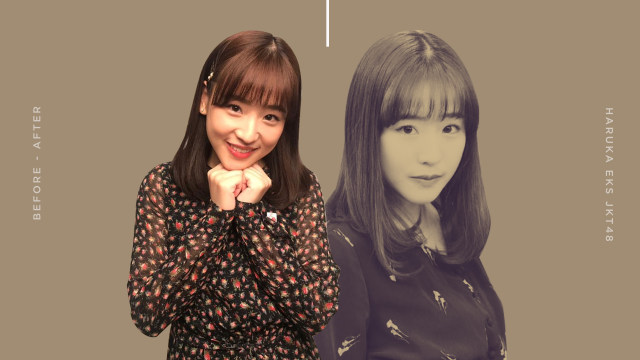 Before-After Haruka Nakagawa, Mantan Idol yang Tetap Bersinar (30733)