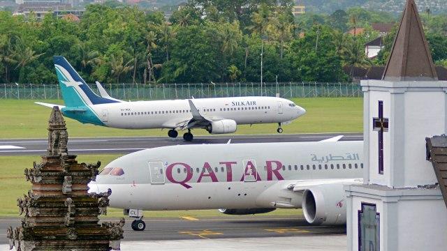 Ilustrasi, Bandara, Pesawat, Bali, I Gusti Ngurah Rai