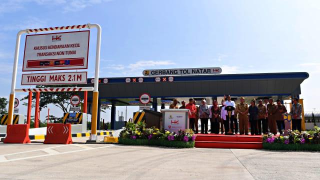 Jokowi, Warga, tol Trans Sumatera, Lampung