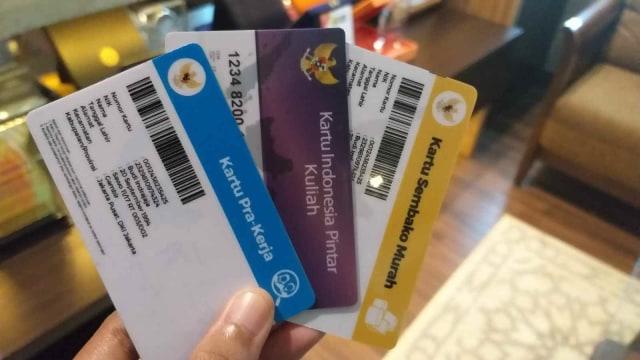 Kartu Pra Kerja, Kartu Indonesia Pintar Kuliah, Kartu Sembako Murah