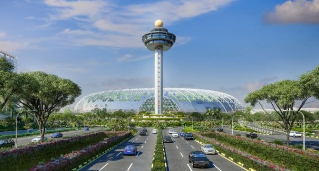 Ilustrasi Jewel Changi Airport