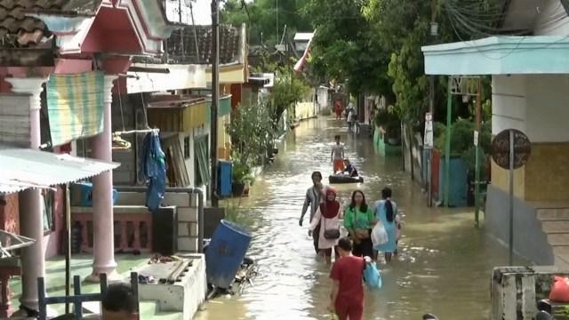 38 Desa di Bojonegoro Tergenang Banjir, Kerugian Capai Rp 4 Miliar (242942)