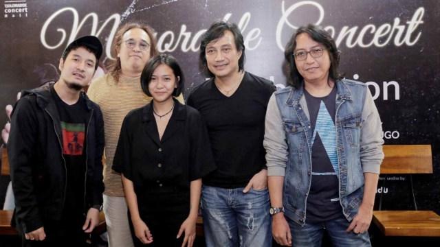 Konferensi pers konser Memorable Concert 'Love at The First Sight' KLa Project