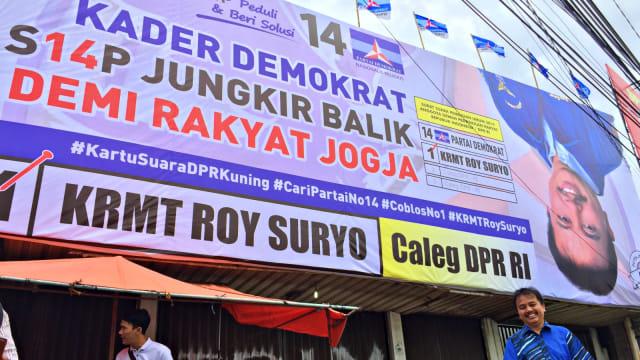 Roy Suryo Caleg Dpr Ri Dapil Yogyakarta Dari Partai Demokrat Foto Arfiansyah Panji Purnandaru Kumparan