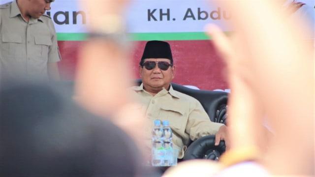 Capres nomor urut 02, Prabowo Subianto, Pondok Pesantren, Darussalam, Garut