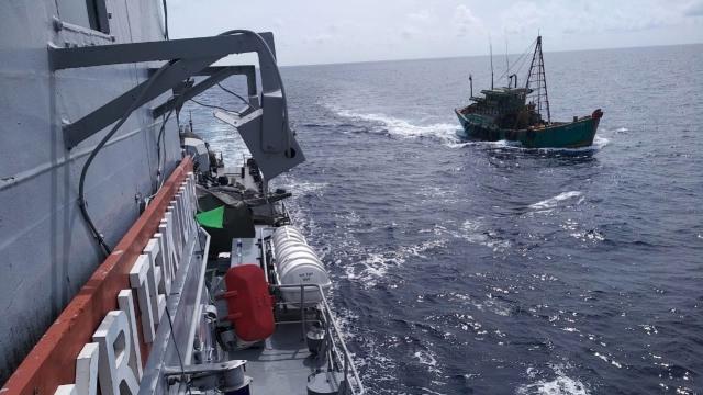 TNI AL tangkap Kapal Asing Vietnam yang lakukan Ilegal Fishing di ZEE Indonesia
