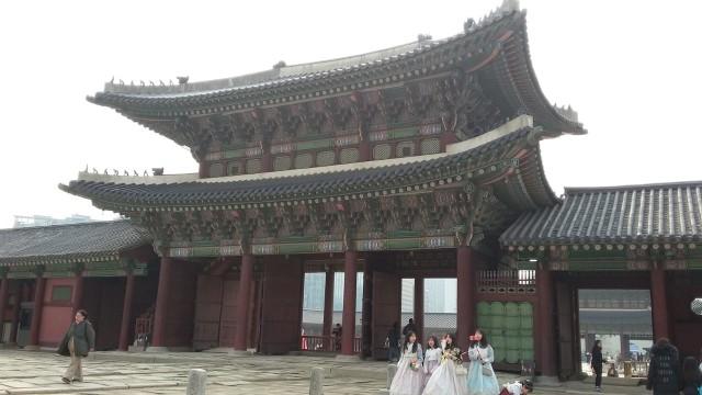 Acehkini Jalan-jalan: Melihat Kemegahan Istana Gyeongbok di Korea (25730)