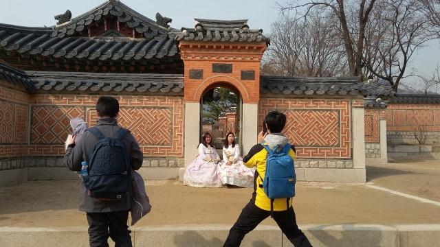 Acehkini Jalan-jalan: Melihat Kemegahan Istana Gyeongbok di Korea (25731)