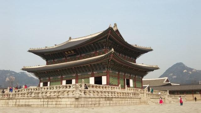 Acehkini Jalan-jalan: Melihat Kemegahan Istana Gyeongbok di Korea (25732)