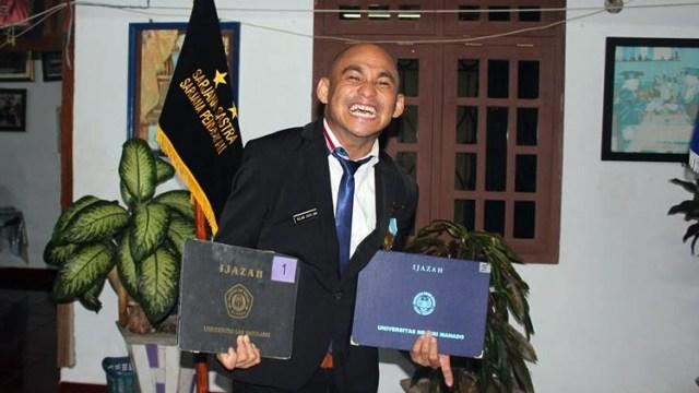 Kisah Allan Umboh, Caleg Penyandang Disabilitas Asal Sulawesi Utara (53978)