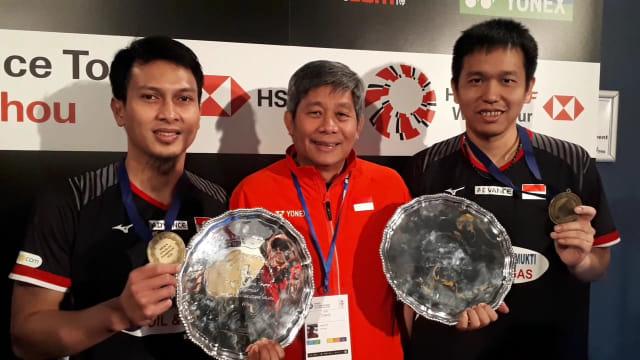 Ahsan/Hendra Tumpul di Thailand Open, Herry IP: Usia Tak Bisa Dibohongi (75319)