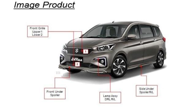 Otomotif, suzuki ertiga, lmpv, mobil baru 2019