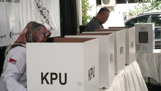 KPU, Simulasi Pemilu 2019