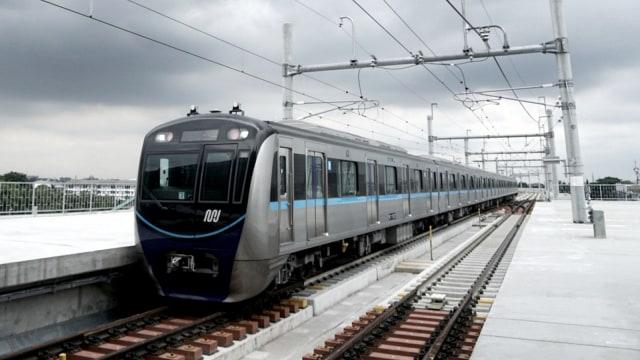Uji Coba Publik MRT Jakarta