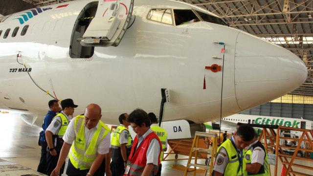 Inspeksi Boeing 737-Max 8